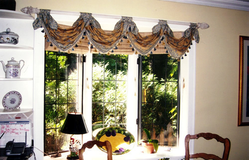 country french window treatment ii chicago interior
