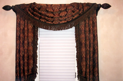 old world window treatment chicago interior designers
